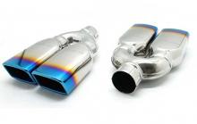 Универсльная сдвоенная насадка глушителя Sterlin F1
