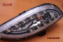 Тюнинг передней оптики Hyundai Sonata YF