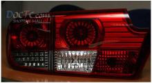 Тюнинг задней оптики Санг Йонг Кайрон - LED-вставки в задние стоп-сигналы