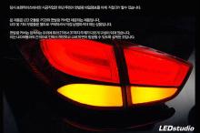 Светодиодные модули в фонари - тюнинг оптики Hyundai ix35.