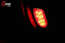Стайлинг Хендай Соната 6 - светодиодные модули для подсветки дверей - комплект 2 шт. - производитель Ione