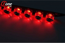 Тюнинг Киа Спортаж - светодиодные модули в дополнительный стоп-сигнал.