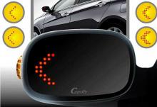 Тюнинг Hyundai ix35 - зеркальные элементы в боковые зеркала заднего вида с LED повторителем поворотника