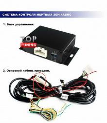 Набор Кабис - Система контроля слепой зоны - Дополнительные опции Санта Фе 3 - Дм + подогрев зеркал.