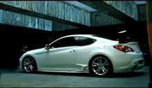 Тюнинг - пороги для Hyundai Genesis Coupe