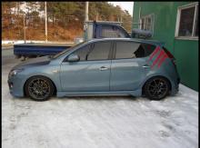 Накладки на пороги - Обвес Zest - Тюнинг Hyundai i30