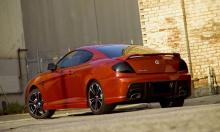 Задний бампер - Обвес Zefiro Ronda - Тюнинг Hyundai Coupe / Tiburon / Tuscani