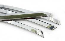 Дефлекторы хромированные - накладки на окна - Стайлинг Киа Отпима К5