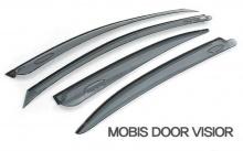 Тюнинг Киа Спортейдж 3 - тонированные дефлекторы на боковые окна неломающиеся - от компании Mobis.