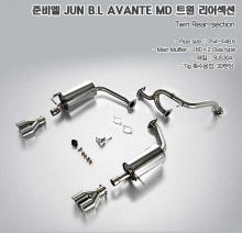 Тюнинг выхлопной системы на Хендай Элантра (Аванте) от Jun BL