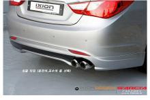 Двойная насадка IXION - вход 61 мм., полированная нержавеющая сталь, Hyundai Sonata 5