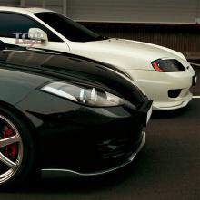 Накладка под передний бампер Иксион - Тюнинг Hyundai Tiburon Coupe GK 2003-2009