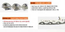 Тюнинг Хендай Соната - светодиодные дневные ходовые огни - от производителя Incobb - комплект 2 штуки.