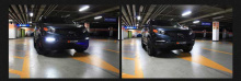Тюнинг оптика для Киа Соренто - светодиодные дневные ходовые огни.