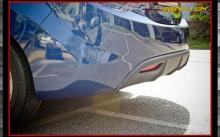 Тюнинг Хендай Элантра - диффузор заднего бампера, ABS пластик