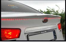 Тюнинг Киа Серато - лип-спойлер на крышку багажника со светодиодной подсветкой