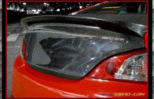Карбоновая крышка багажника Sequence - тюнинг Хендэ Генезис Купе