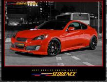 Фантастическая карбоновая крышка багажника Sequence - тюнинг Hyundai Genesis Coupe