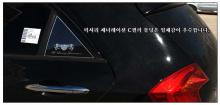 Стайлинг Киа Пиканто 2 - накладки на задние стойки - от ателье ArtX.