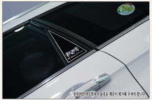 Стайлинг Киа Соренто - накладки на задние стойки - от компании ArtX.
