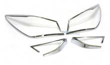 Стайлинг Хендай Соната YF -молдинги задней оптики хромированные - от производителя Auto Clover.