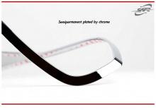 Стайлинг Хендай Велостер - хромированные накладки на заднюю оптику - от производителя Kyung Dong.