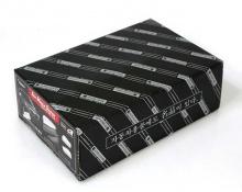 Накладки на зеркала - Хромированные Автокловер - Тюнинг Киа Оптима. Модель - с отверстиями для повторителей поворотников.