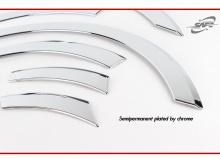 Тюнинг Хендэ Соната NF - накладки на колесные арки хромированные - производитель Kyung Dong.