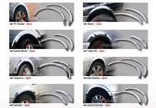 Стайлинг Хендэ Соната 6 - хромированные накладки на колесные арки - от компании Kyung Dong.
