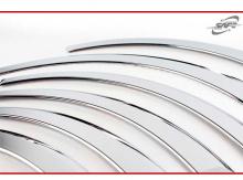 Хромированные накладки на колесные арки - Кунг Донг (Южная Корея) - Тюнинг Киа Оптима.