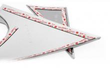 Стайлинг Хендай Соната 6 - накладки на крепления боковых зеркал заднего вида - от производителя Auto Clover.