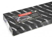 Стайлинг Киа Пиканто 2 - накладки на боковые окна хромированные - комплект 4 штуки - от компании Auto Clover.