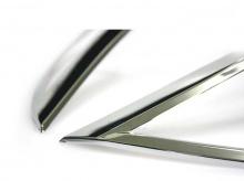Стайлинг Киа Соренто - накладки на переднюю оптику - от компании Auto Clover.