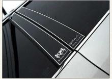 Стайлинг Киа Пиканто 2 - накладки на центральные и задние стойки - от компании ArtX.