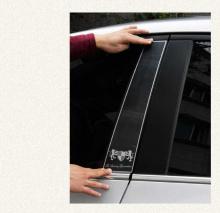 Стайлинг Киа Соул - накладки на центральные стойки от компании ArtX.