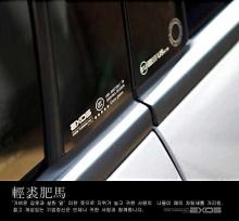 Стайлинг Киа Спортейдж 3 - накладки на центральные стойки глянцевые - от компании Exos.