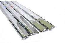 Стайлинг Киа Спортейдж 3 - хромированные накладки на окна - от компании Auto Clover.