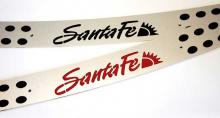 Защита багажника Санта Фе 2