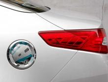 Стайлинг Киа Пиканто 2 - хромированная накладка на крышку топливного бака - от компании Camily.