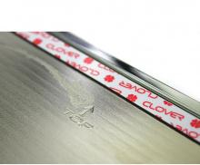 Стайлинг Хендай Соната - хромированная накладка на крышку бензобака - от производителя Auto Clover.