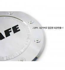 Стайлинг Киа Соул - хромированная накладка на лючок бензобака - от компании Kyung Dong.