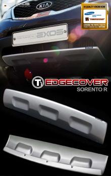 Тюнинг накладка на передний бампер Exos T1
