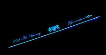 Тюнинг салона - хромированные накладки на пороги в салон со светодиодной подсветкой - от компании ArtX.