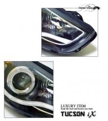 Тюнинг оптика для Хендай ix35 - передние светодиодные фары.