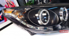 Audi Style Версия с CCFL кольцами и дневными ходовыми огнями