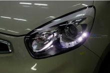 Тюнинг оптика для Киа Пиканто 2 - светодиодные фары в сборе - от ателье Mobis.
