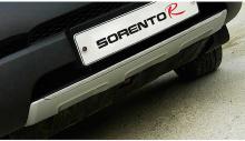 Тюнинг Киа Соренто - накладки на передний и задний бампера - от компании Morris.