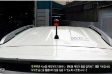 Рейлинги крыши на автомобиль без люка - Производство Мобис (Юж. Корея) - Тюнинг Хендэ АйИкс 35.