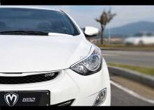 Тюнинг Hyundai Alantra MD реснички на фары