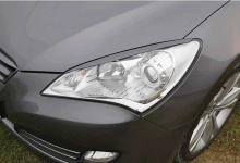 Накладки на фары для Hyundai Genesis Coupe. Реснички